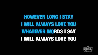 "Love Song in the Style of ""Adele"" karaoke video with lyrics (no lead vocal)"
