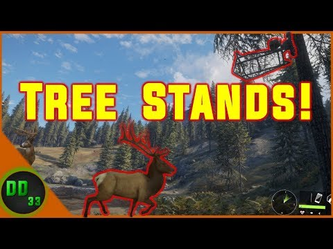 TREE STAND HUNTING For The 1st Time In Call Of The Wild!!!