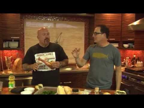 Tony Luke and Sam The Cooking Guy Make the Ultimate Homemade Philly Cheesesteaks streaming vf