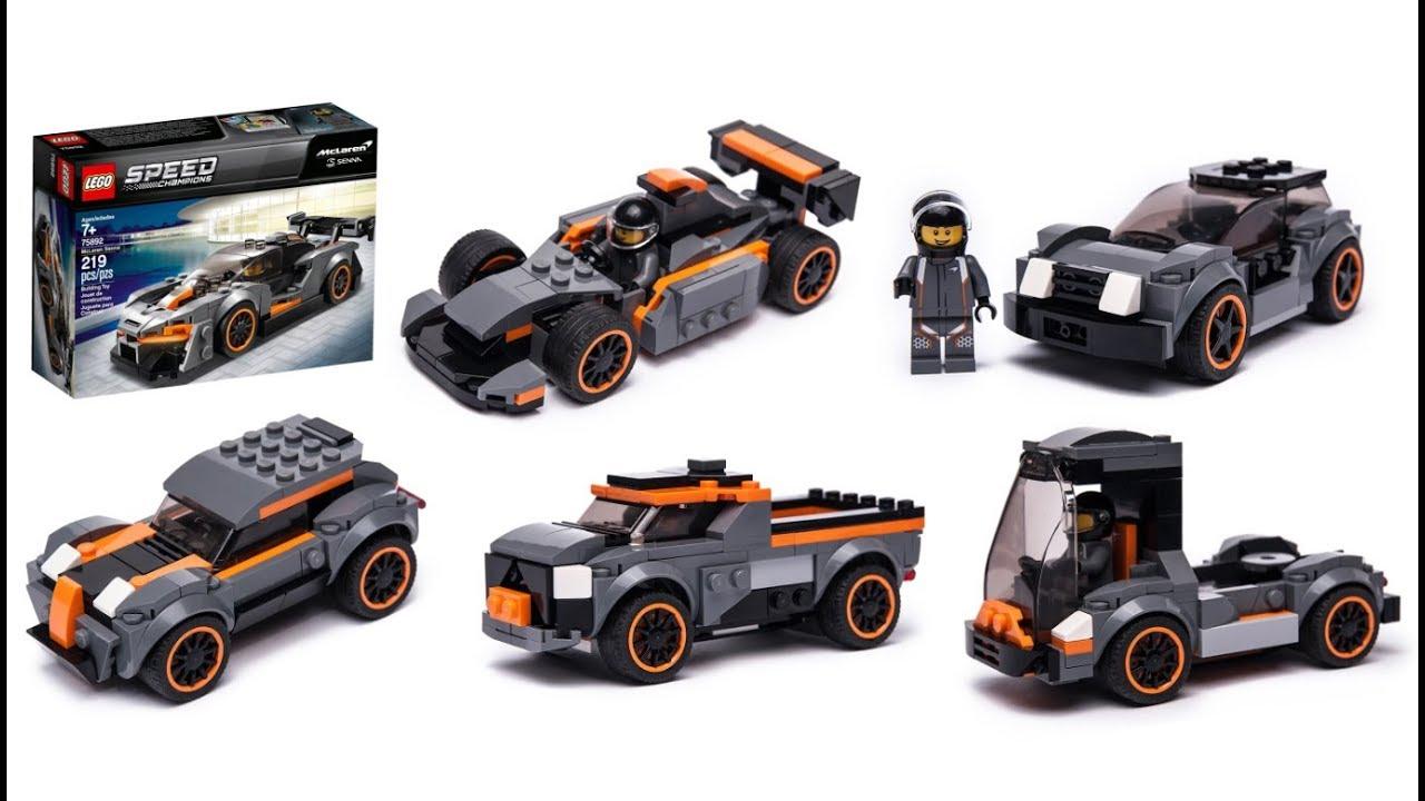 75892 LEGO Speed Champions McLaren Senna Model Toy Car