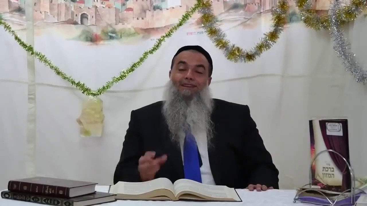 ביקור בסוכה של הרב יגאל כהן 😇   מרגש!!