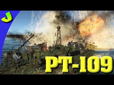 War Thunder-PT-109 Torpedo Boat Pre Beta Realistic Gameplay