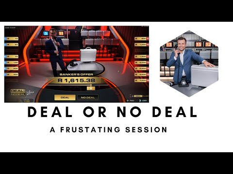 Deal or No Deal Live Game - Qualifying is not fun