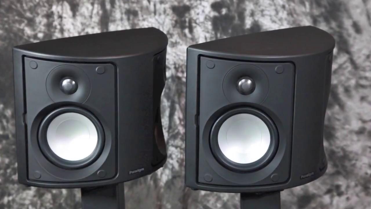 Stereo Design Paradigm Monitor Surround 3 S 7 Rear