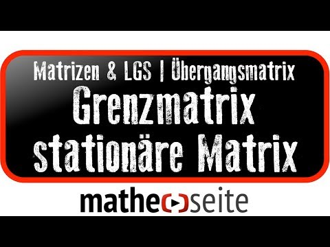 thenilsor mathematik grenzvektor und grenzmatrix doovi. Black Bedroom Furniture Sets. Home Design Ideas