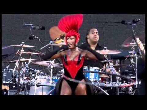 Grace Jones - Slave To The Rhythm (Jubilee Concert, 4.6.12)