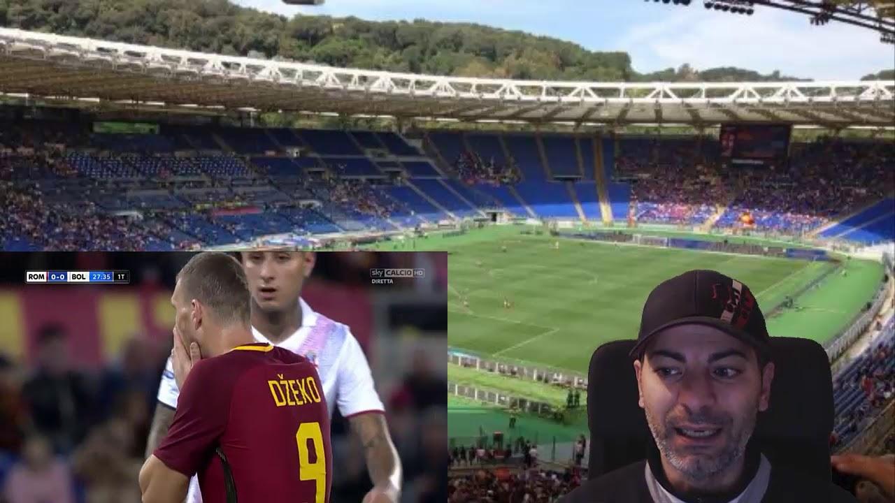 ROMA vs BOLOGNA 1-0 - YouTube
