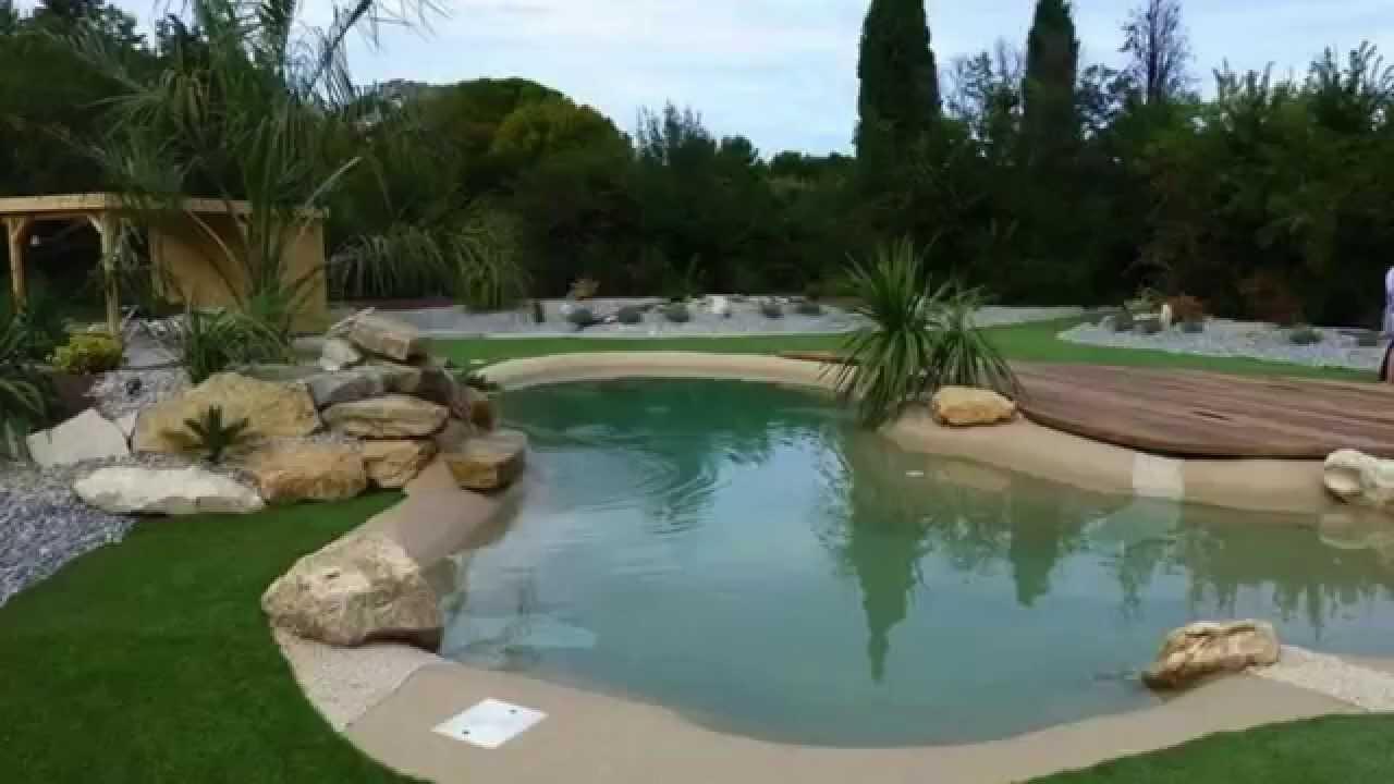 Extrêmement Réalisations de piscines naturelles Biodesign - YouTube JN13