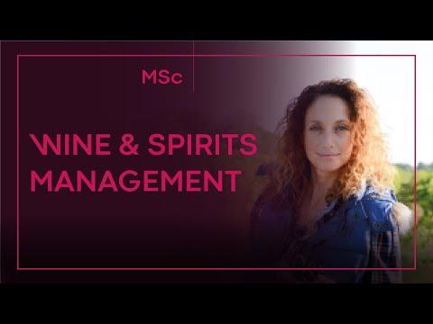 MSc Wine And Spirits Management – MVS