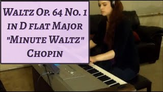 "Chopin ""Minute"" Waltz Op. 64 No. 1 in D flat Major for Piano Solo"
