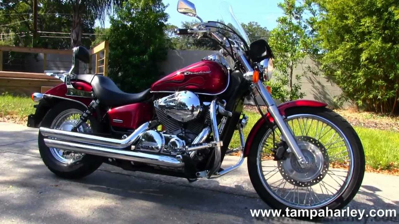 Used Honda Motorcycles >> 2008 Honda Shadow Spirit Vt750 Used Motorcycles For Sale Youtube