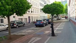 3й район Вены (Австрия) Street View - иду по Вене и рассказываю разное