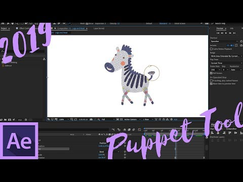 New Puppet Tools in Adobe After Effects 2019
