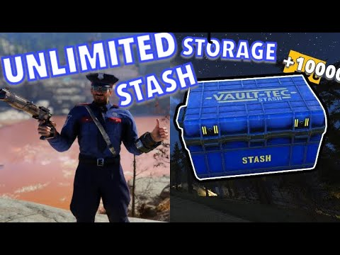 Fallout 76: UNLIMITED STASH STORAGE