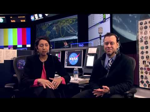 ISS Mission Control Console Interviews Space Station Manger Ginger Kerrick