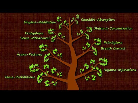 The Eight Limbs of Yogic Meditation Patanjali's Yoga Sutras