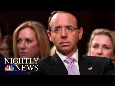 Deputy AG Rod Rosenstein, Who Oversees Mueller Probe, Expected To Step Down | NBC Nightly News