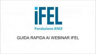 Tutorial Webinar IFEL