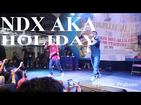 NDX AKA - Holiday (Live in Halaman KR Jogja 2017)