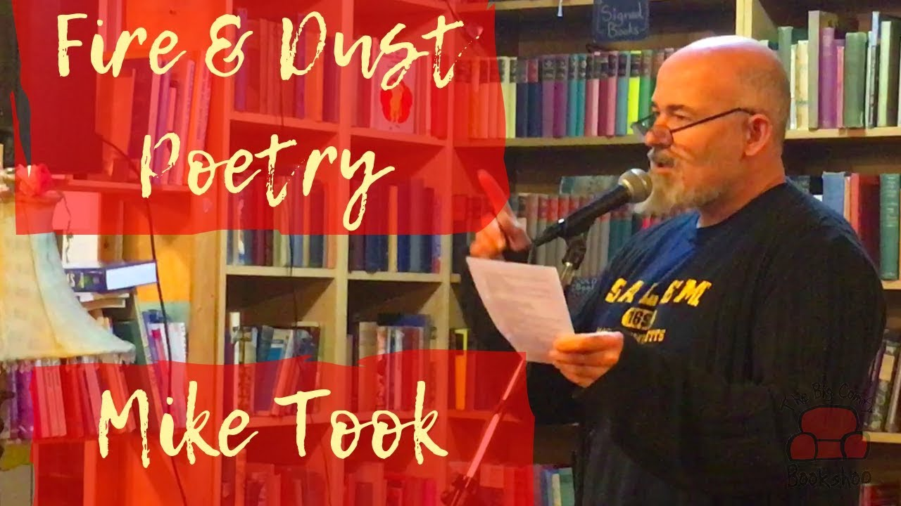 Coventry Poetry with Mike Took at The Big Comfy Bookshop
