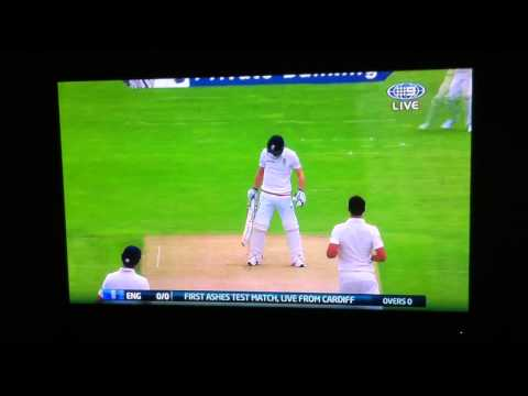 First Ball of the 2015 Ashes! - Original Video