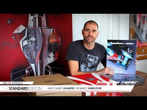 The Timeless Racer 1: editions explained by author Daniel Simon
