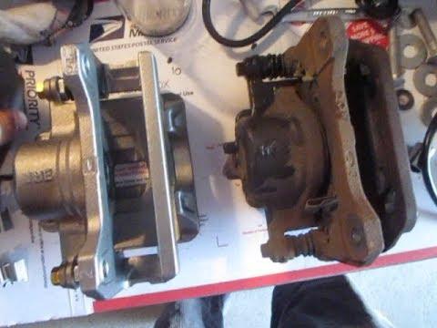 how to replace brake calipers rotors honda acura youtube rh youtube com Acura TL 6-Speed Manual Acura TL Owners Manual PDF