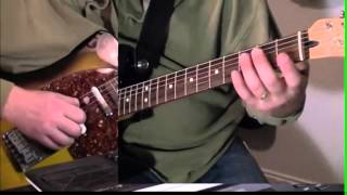 Guitar Lesson - Vince Gill Guitar Solo - One More Last Chance