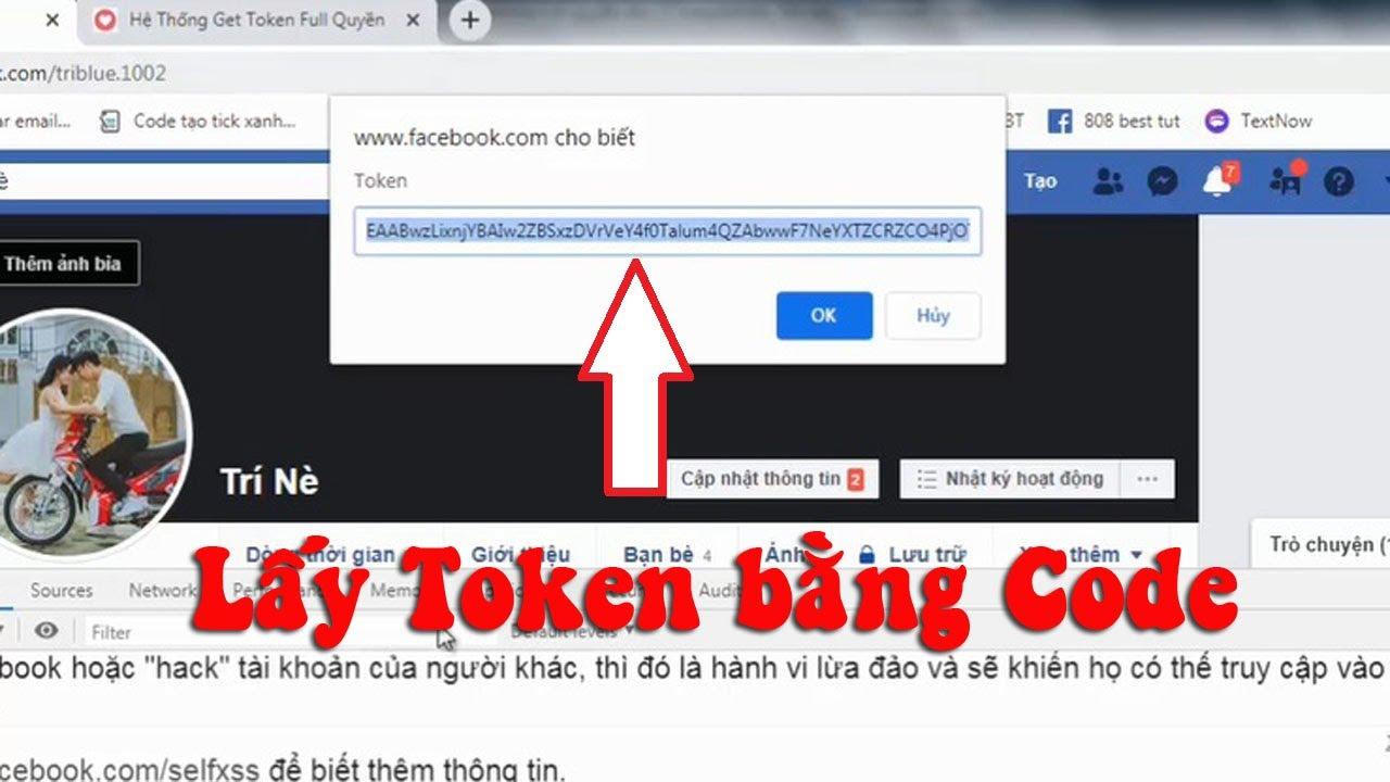 Cách lấy Token Facebook bằng Code F12 nhanh và an toàn
