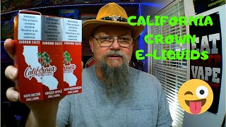 California Grown E Liquids - Review - SubOhm Salts
