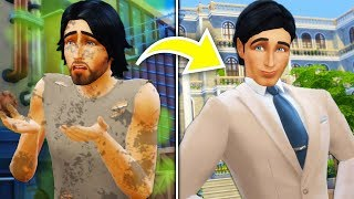Homeless to Rich | A Sad Sims 4 Story