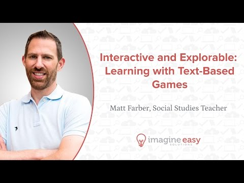 Interactive and Explorable: Learning with Text-Based Games