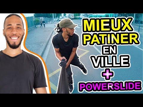 COMMENT BIEN PATINER EN ROLLER + POWERSLIDES ET AUTRES ! DANS LA VILLE  #4