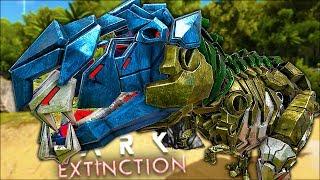 NAJFAJNIESZY DINOZAUR W GRZE?! TEK T-REX! - ARK: EXTINCTION PL #6