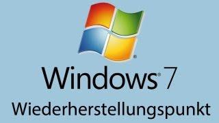 Windows 7: System auf Wiederherstellungspunkt zurücksetzen und erstellen [HD] - TutorialChannel