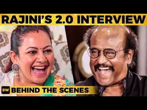 Rajinikanth's 2.0 Interview Behind the Scene Stories - VJ Archana Reveals | Shankar