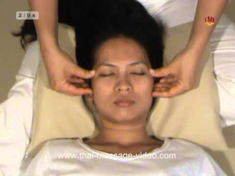 TME Thai Face and Head Massage Techniques