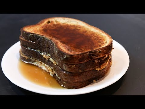 HOW TO MAKE FRENCH TOAST TASTY, EASY, HEALTHY, HIGH PROTEIN RECIPE