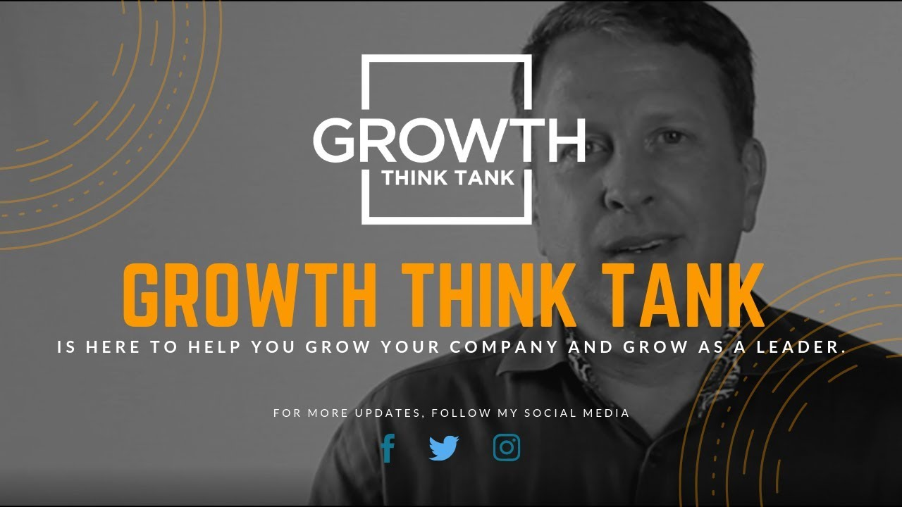 New and Improved - New Name is Growth Think Tank - Gene