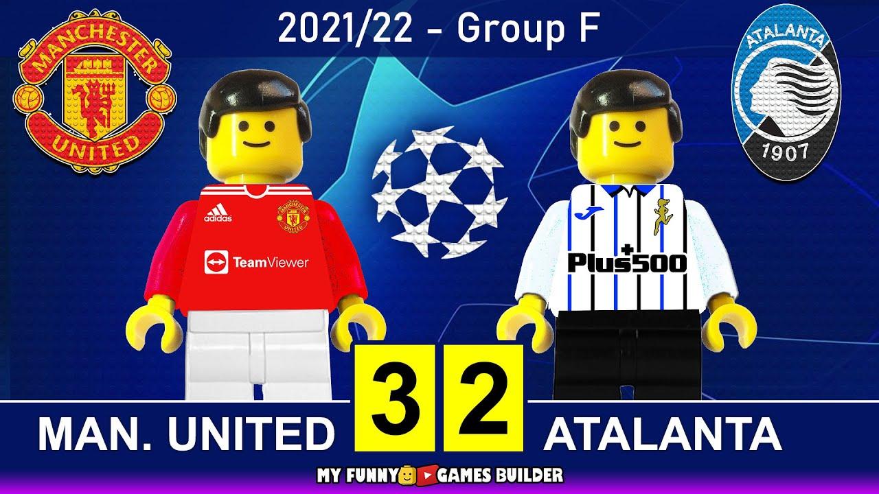 Manchester United vs Atalanta 3-2 • Champions League 2021/22 • All Goals & Hіghlіghts Lego Football