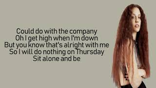 Jess Glynne - Thursday (Lyrics | Lyric Video) Video