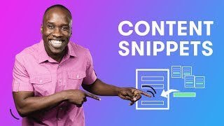 How to Use Content Snippets in Drip | Drip Email Marketing Tutorial