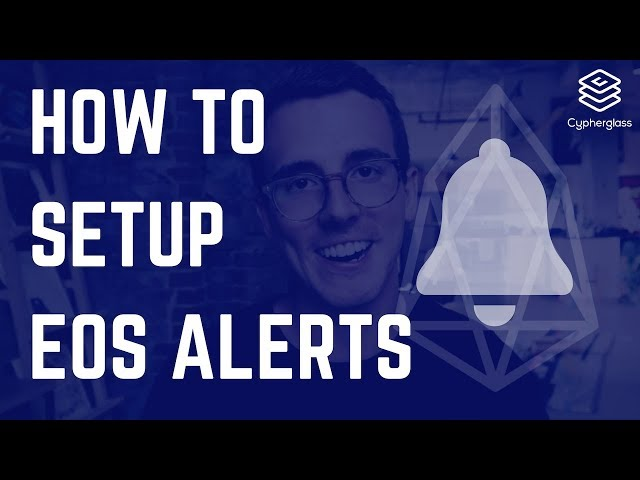 How to Setup EOS Alerts