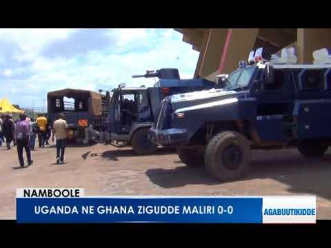 Uganda ne Ghana zigudde maliri 0-0
