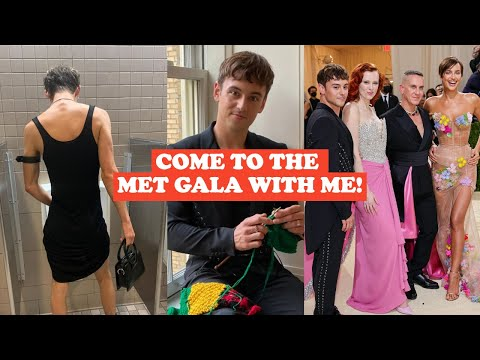 COME TO THE MET GALA WITH ME?! I Tom Daley