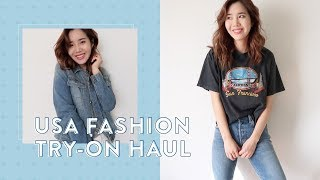 Massive USA Fashion Try-On Haul: Shopping the Spring Sales & Deals