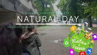 Natural Day : ramassage de déchets dans toute la ville