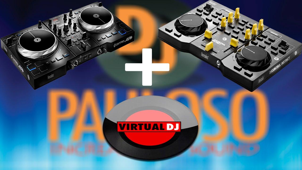 Configurar a hercules dj control instinct air no virtual - Table de mixage hercules dj control instinct ...