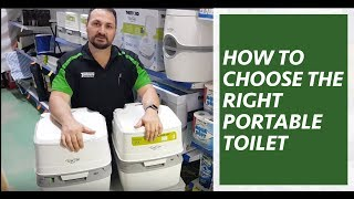 How to choose the right portable toilet? How to use Portable Camping Toilets