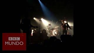 París: momento del tiroteo durante el concierto en Le Bataclan